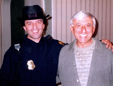 Jaime Farr - Keyboardist Ricky Daloia backstage with Jamie Farr of Mash at a Blues Family Showband performance in Buffalo, NY. Are they related?